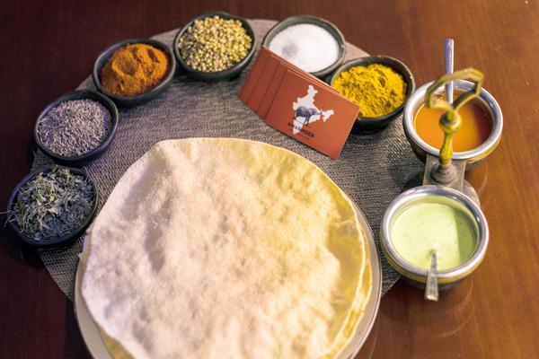 Comida india para perder peso