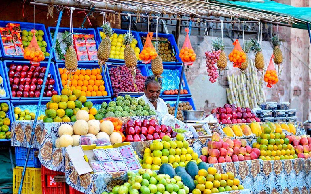 India, paraíso de la comida vegetariana