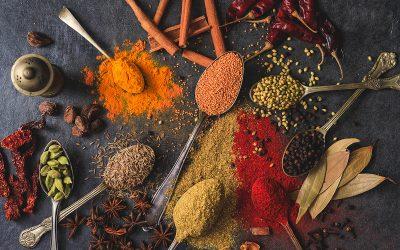 La regla de los 6 sabores en la gastronomía india